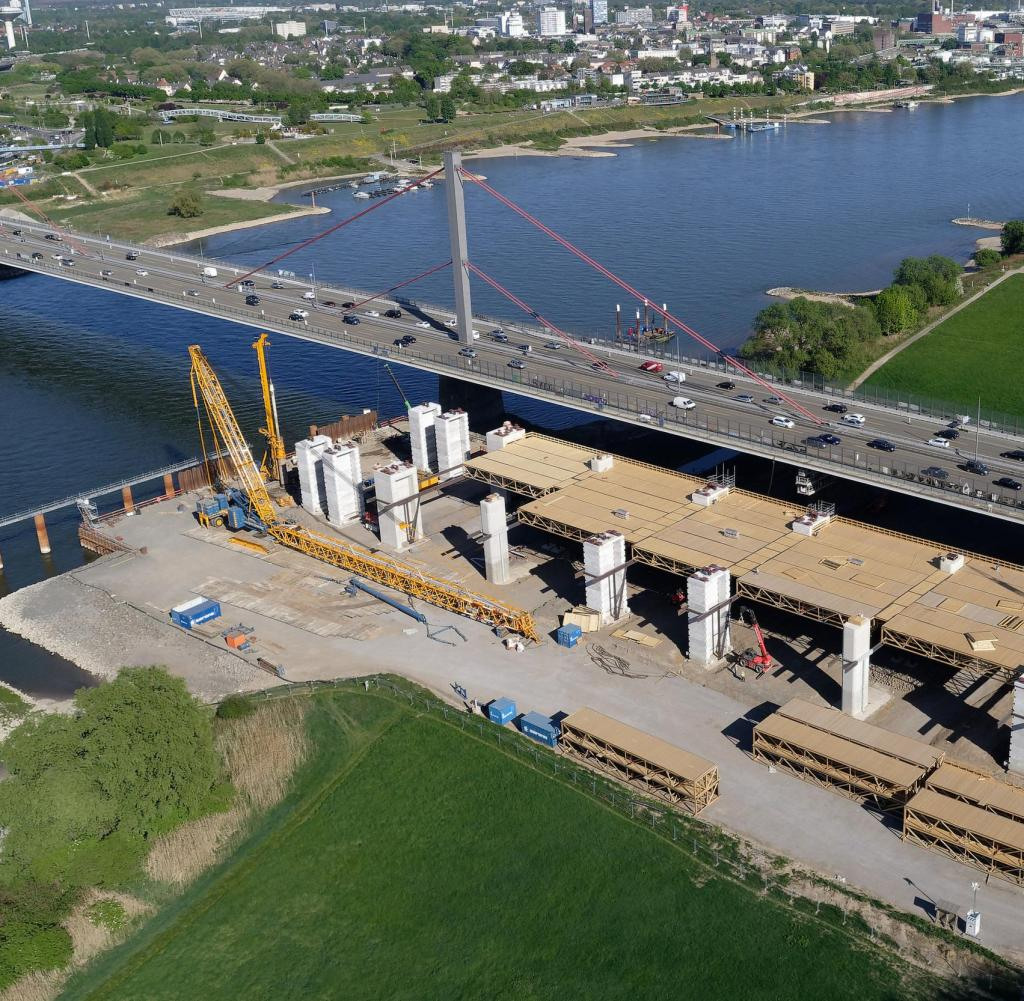 Die A1-Brücke könnte laut Ausschreibung später fertiggestellt werden