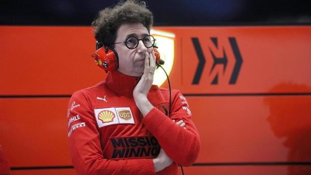 Umstritten: Ferrari-Teamchef Mattia Binotto.  (Quelle: Bildbilder)