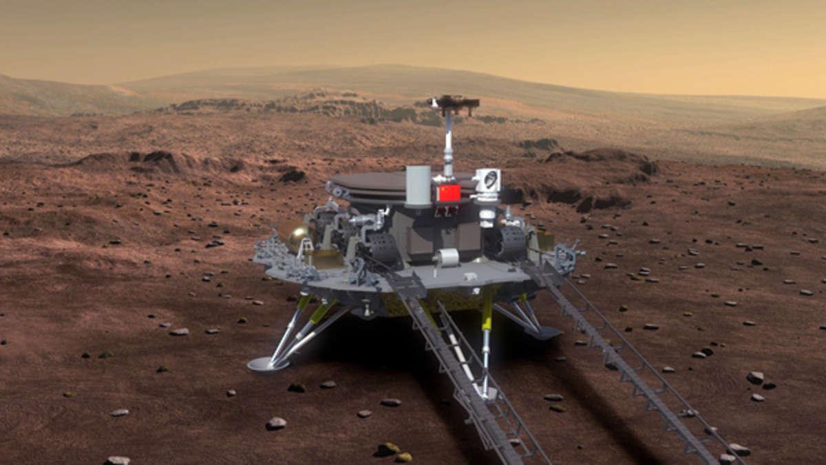 """China fliegt zum Mars: Mission """"Tianwen-1"""" hat nicht nur wissenschaftliche Ziele"""