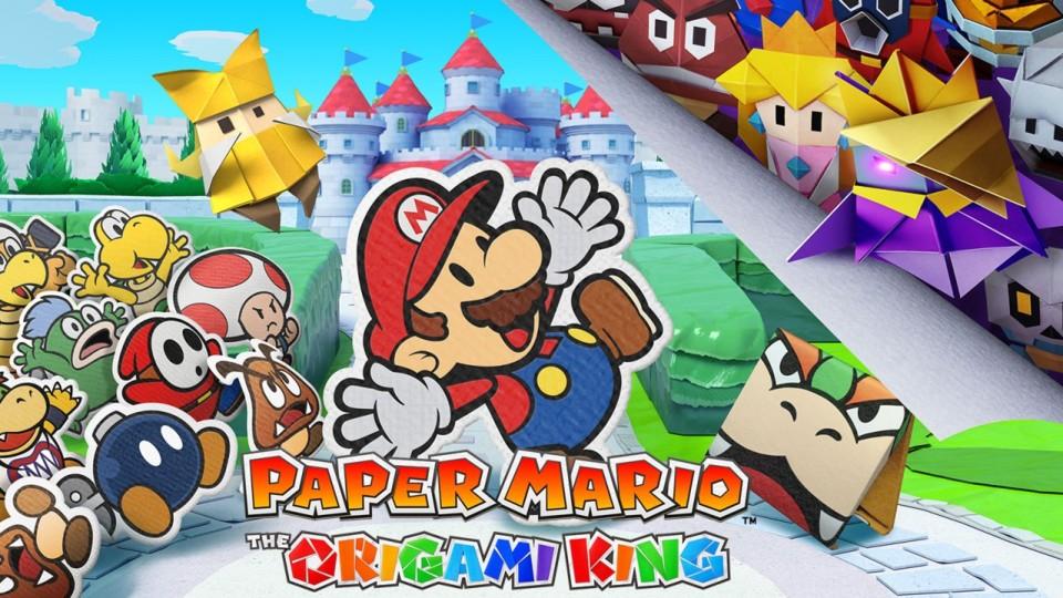 Paper Mario: The Origami King - erster Trailer zum Switch-Papierabenteuer