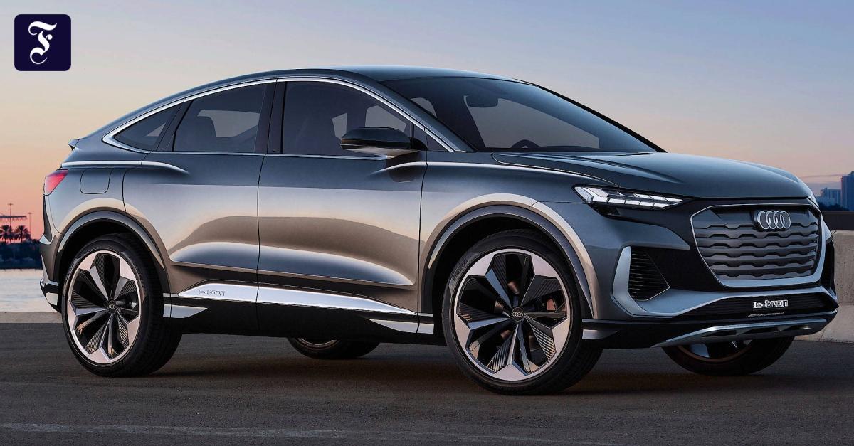 Audi bringt auch den elektrischen Q4 als SUV-Coupé mit