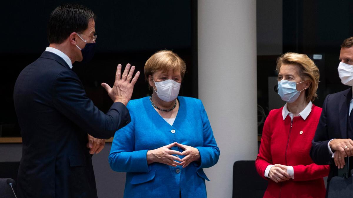 Brüssel: Der EU-Gipfel muss verlängert werden - und der Ton in Europa wird rauer