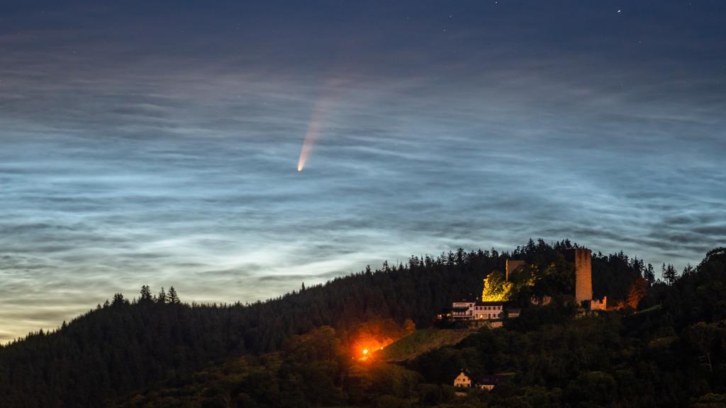 Komet C / 2020 F3 Neowise