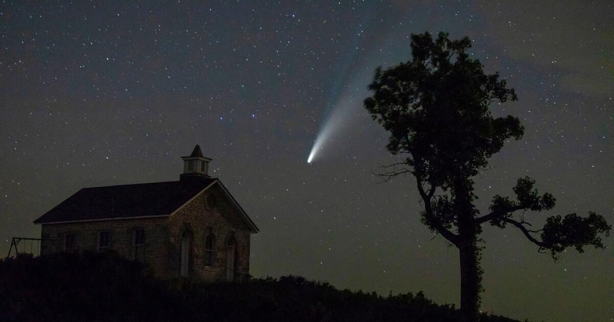 Erdnah: Komet Neowise mit bloßem Auge sichtbar