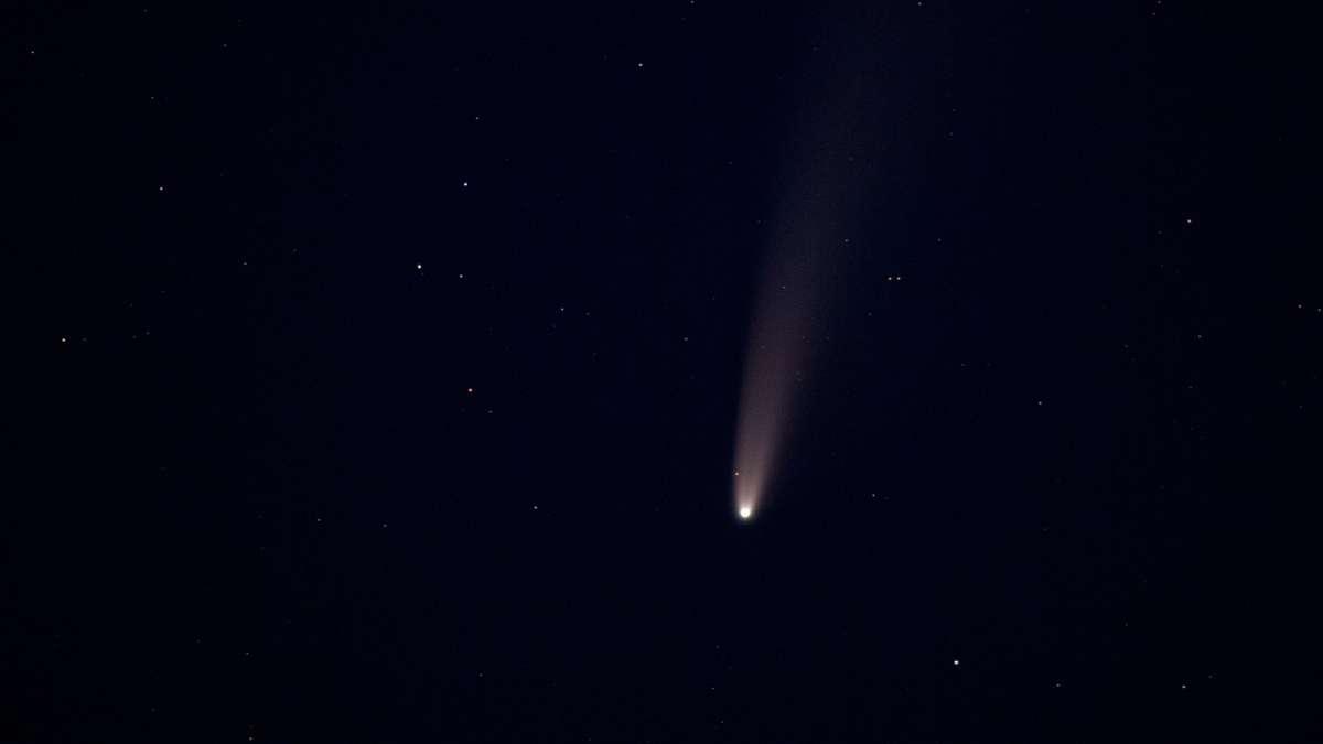 Kometen Sehen
