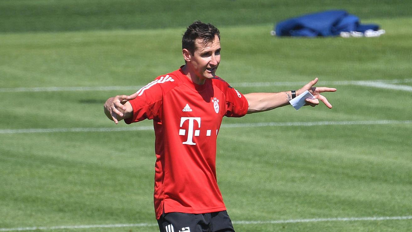 """Miroslav Klose startet beim FC Bayern: """"ruhig und ohne Eitelkeiten"""""""