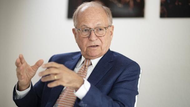 Wolfgang Ischinger kennt die internationale Politik durch und durch.  (Quelle: Fotothek / Bildbilder)