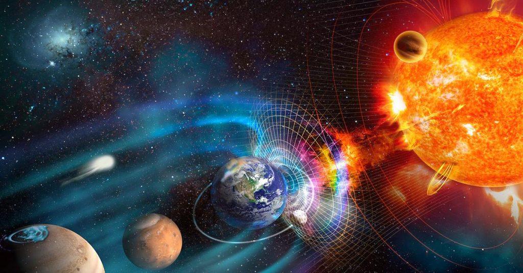 Das Erdmagnetfeld ändert sich schnell - dies sind die Folgen der Polarumkehr