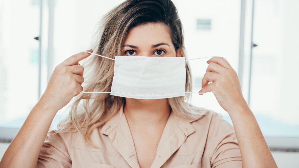 Eine neue Maske könnte das Koronavirus töten