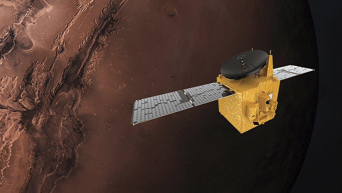 Endlich erfolgreich: Die VAE senden eine Sonde zum Mars