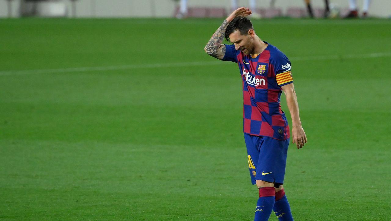 """FC Barcelona Lionel Messi: """"Wir waren eine schwache Mannschaft"""""""