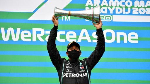 Formel 1: Hamilton gewinnt den Großen Preis von Ungarn