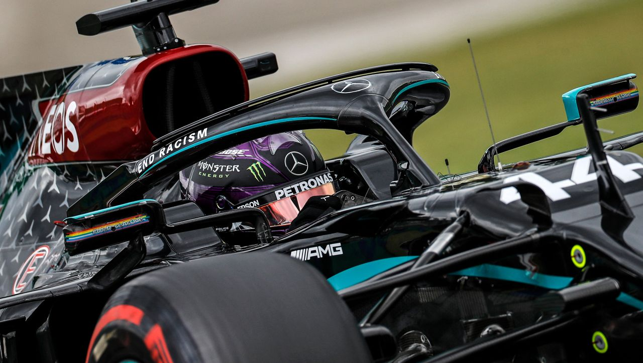Formel-1-Qualifikation in Ungarn: Lewis Hamilton fährt 90. Pole - Racing Point für Ferrari