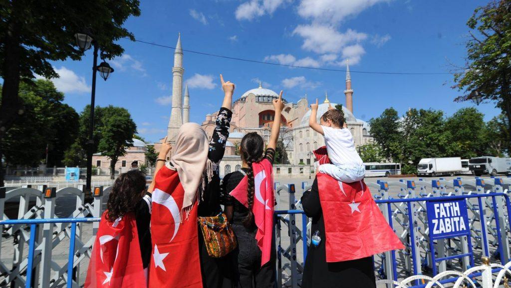 Hagia Sophia / Türkei: Erdogan verstärkt die Spannungen mit Russland