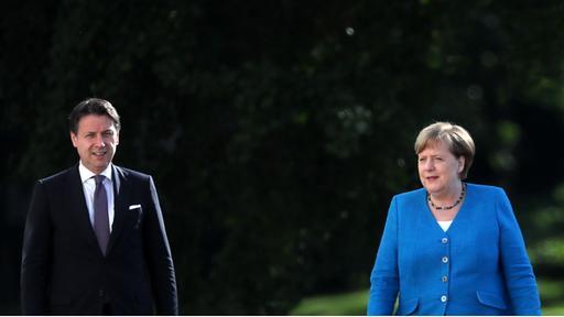 """Merkel und Conte über Entwicklungsfonds: """"Etwas Großes, etwas Besonderes"""""""