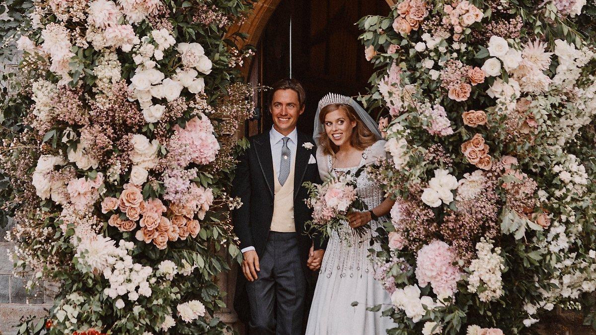 Nach Beatrices Blitzhochzeit: Palace veröffentlicht Hochzeitsfoto