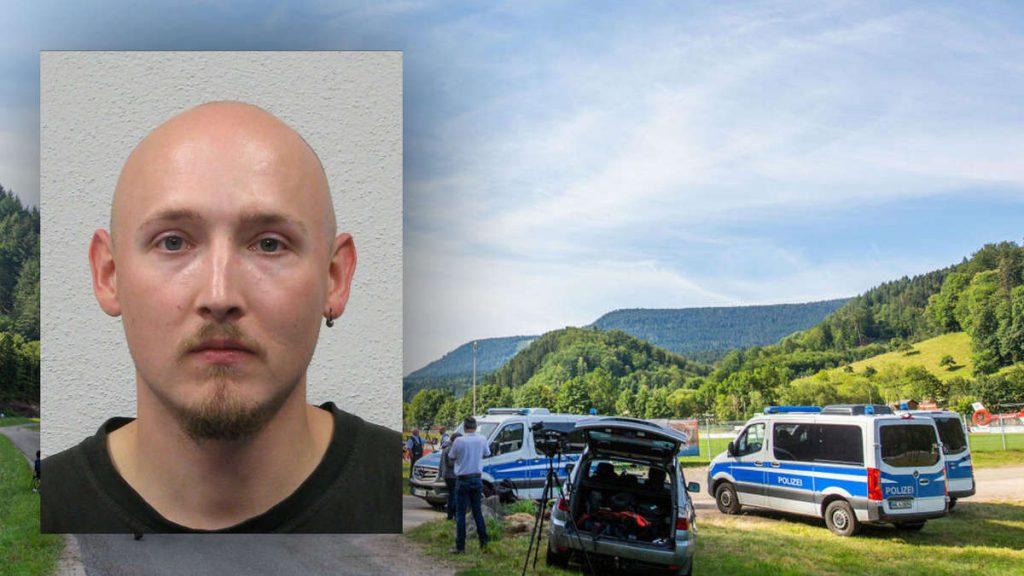 """Oppenau (Schwarzwald): Mann entwaffnet Polizisten und flieht - Warnung: """"befindet sich im Ausnahmezustand"""""""