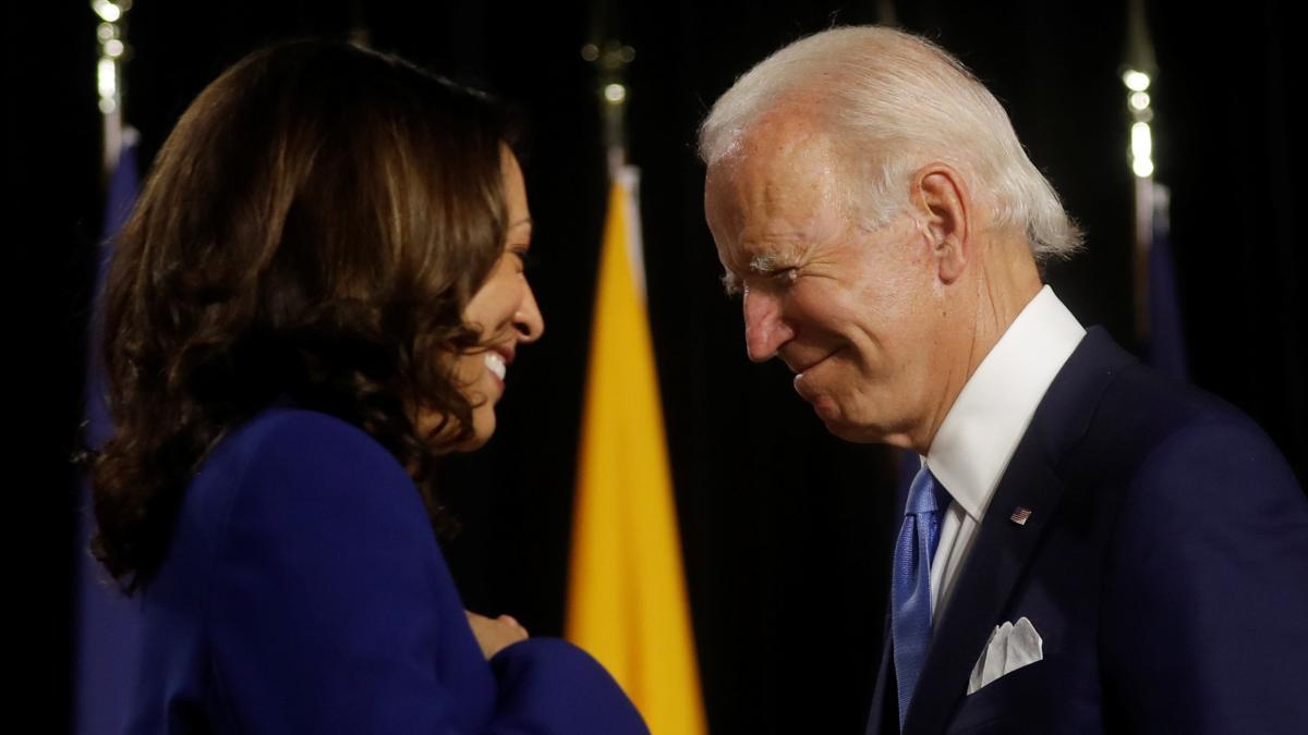US-Wahlen: Biden und Harris erscheinen zuerst zusammen