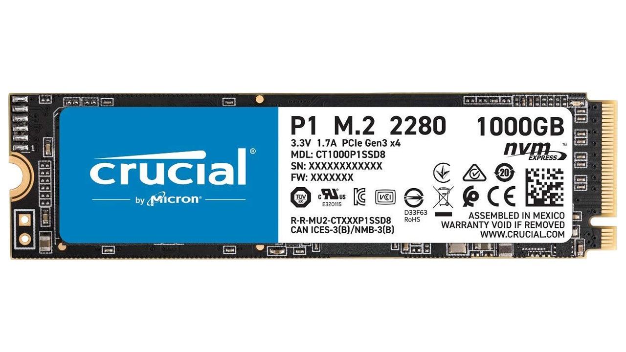 M.2 SSDs von Western Digital und Crucial bei Amazon und Mediamarkt