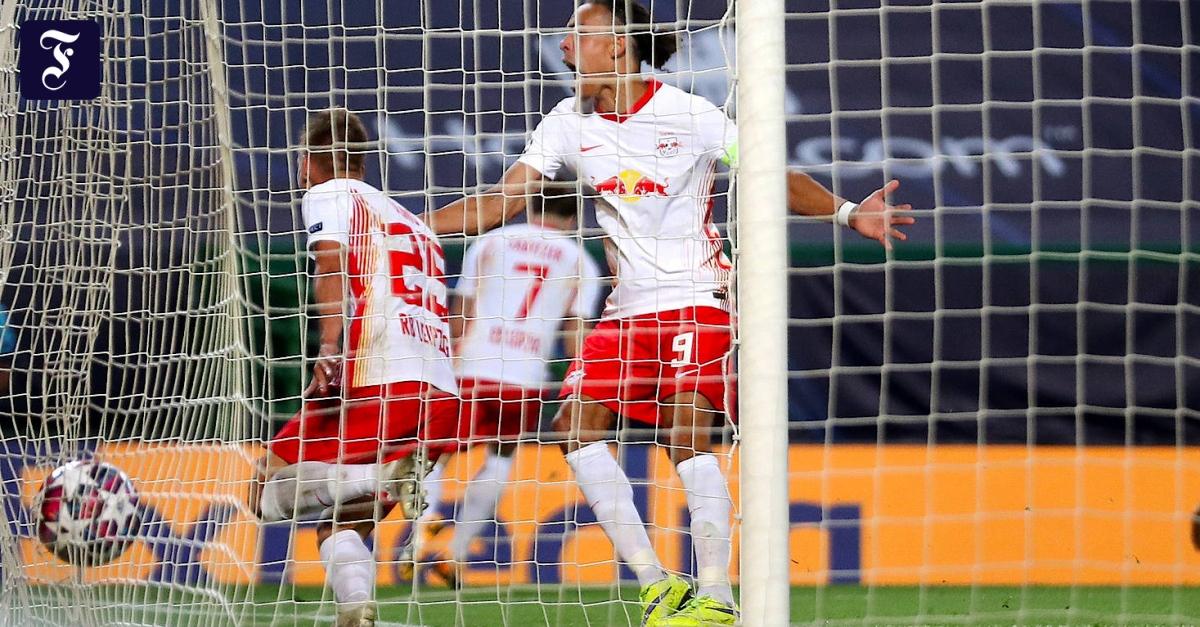 RB Leipzig besiegte Atlético Madrid