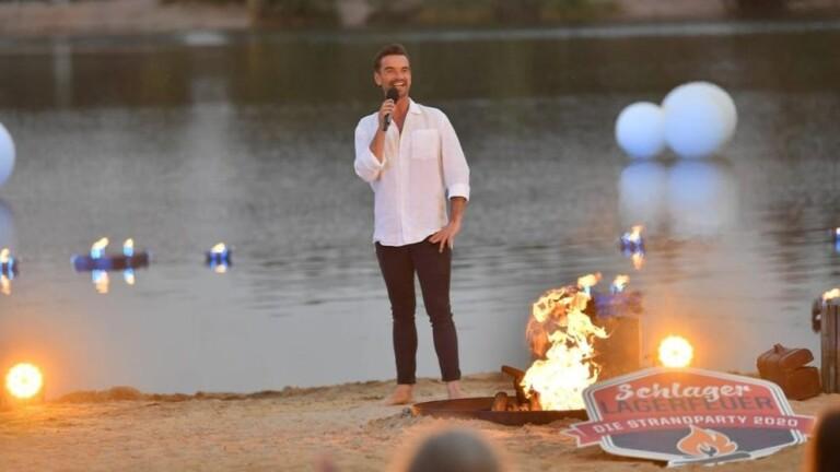 Florian Silbereisen (39) lud am Freitagabend zur Strandparty