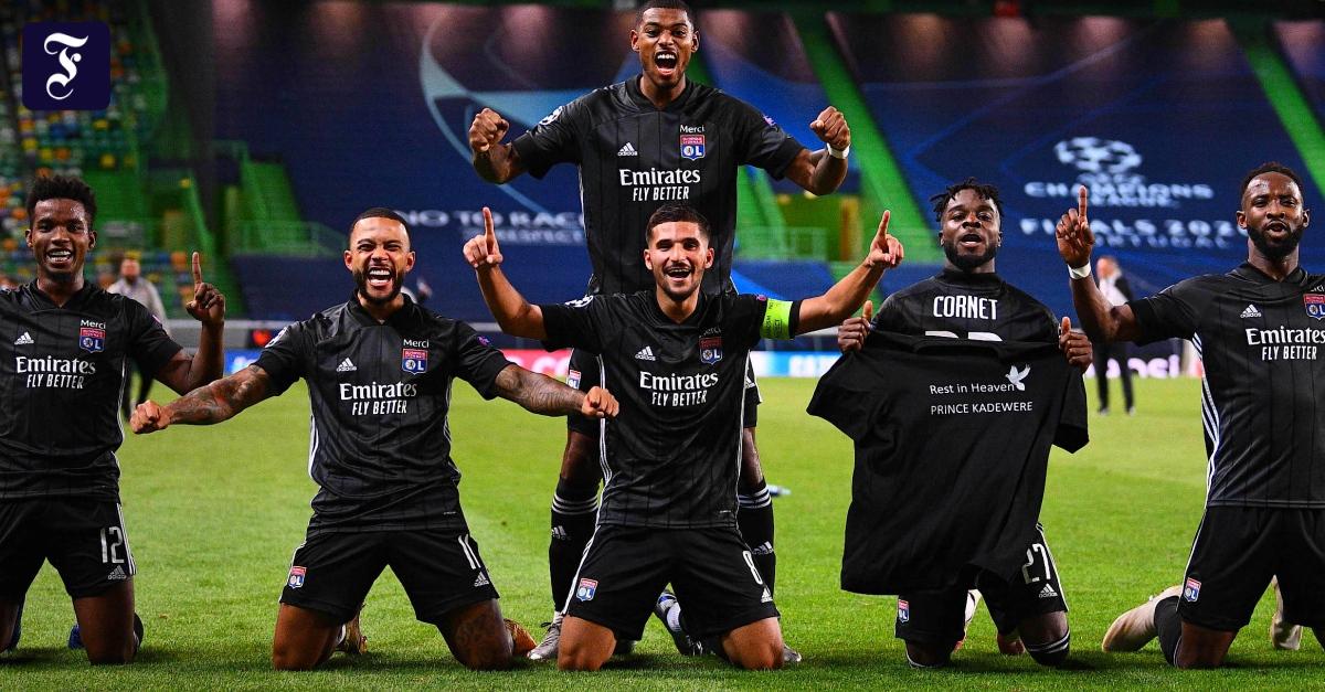 Lyon besiegte Manchester City und traf auf die Bayern