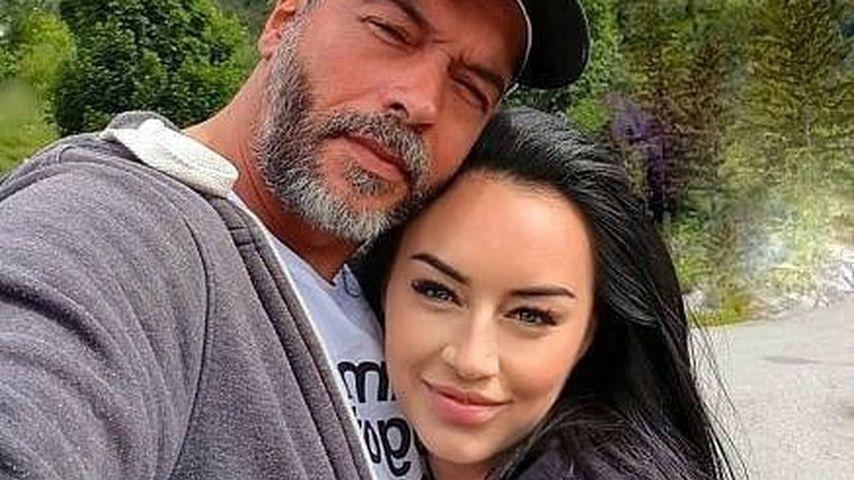 Aurelio Savina mit seiner Freundin