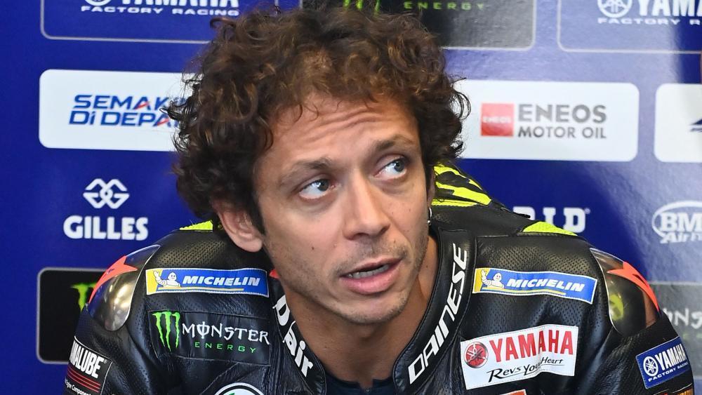 """Rossi war fassungslos: """"Ich dachte, es wäre der Hubschrauber"""" - Moto GP"""