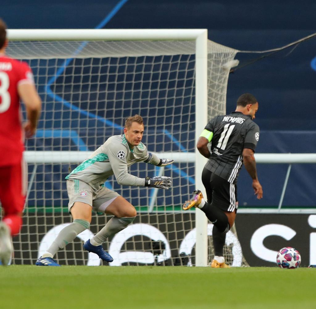 Olympique Lyonnais gegen Bayern München - Halbfinale der UEFA Champions League