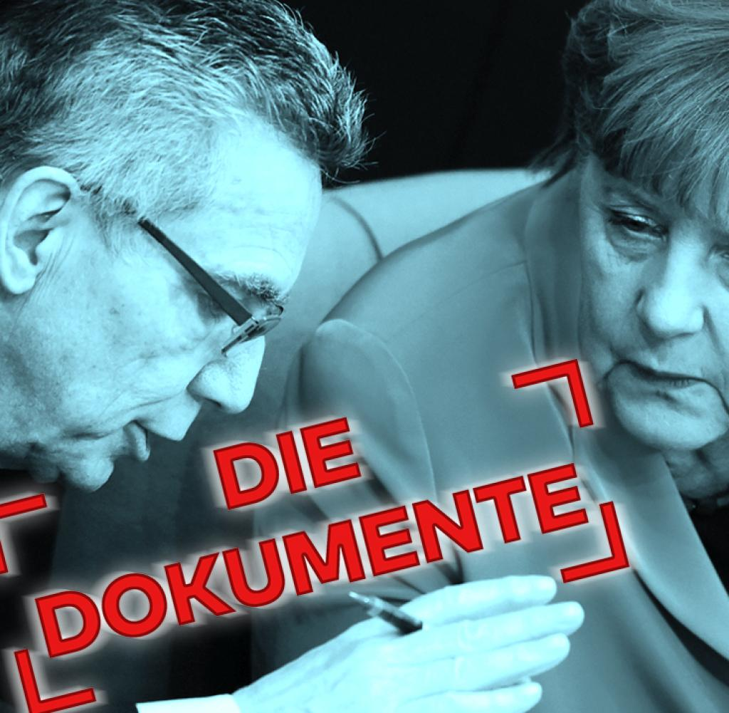 In der Flüchtlingskrise bittet Angela Merkel Thomas de Maizière um ein Vertrauensvotum
