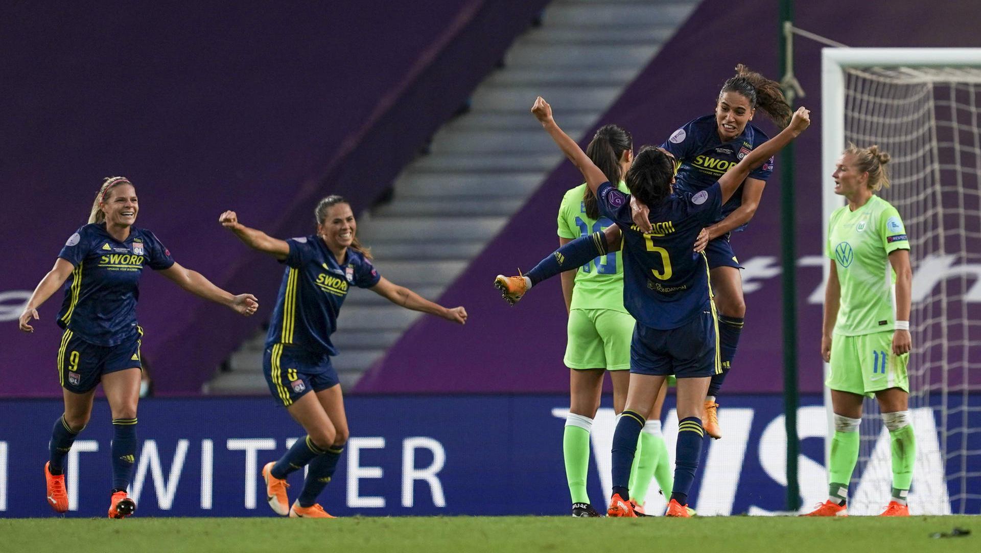 Bitterer Bankrott! Wolfsburg verliert das Frauenfinale gegen Lyon