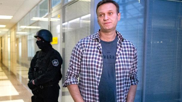 Kremlkritiker Alexei Navalny.  (Quelle: dpa)