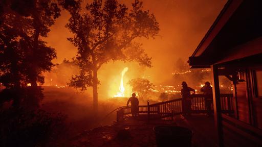 Brände in Kalifornien: Mehr als 100.000 Menschen wurden vertrieben