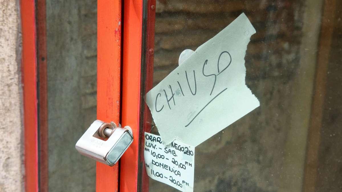 Corona-Schock in Italien: mehr Fälle als in Monaten - Hunderte von Touristen stecken plötzlich fest