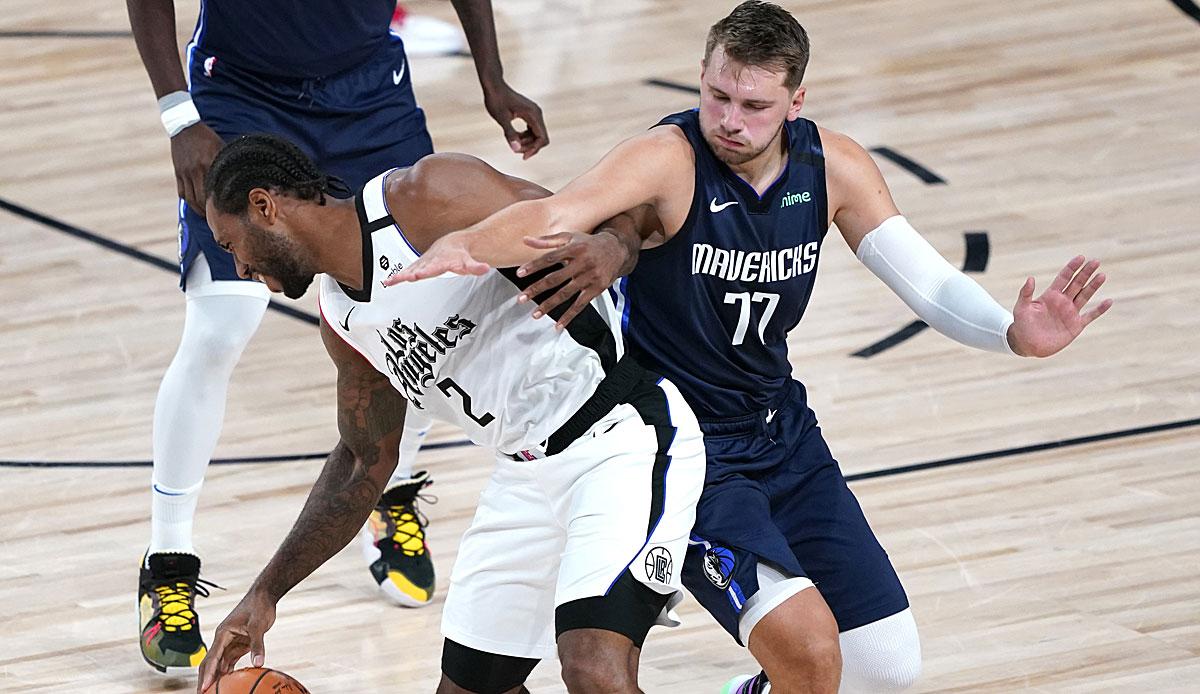 Dallas Mavericks vs.  LA Clippers im Live-Stream und Live-Ticker