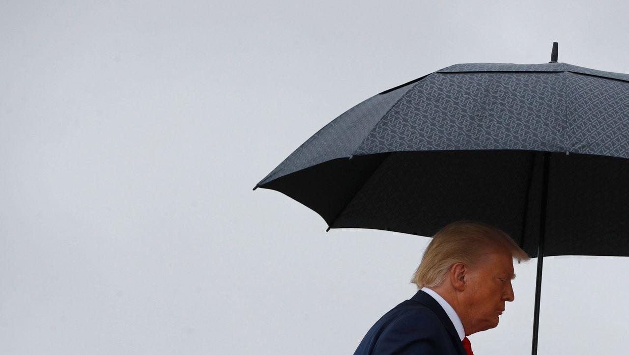 Donald Trump bedroht die Postwahlregelung - und will den Staat verklagen