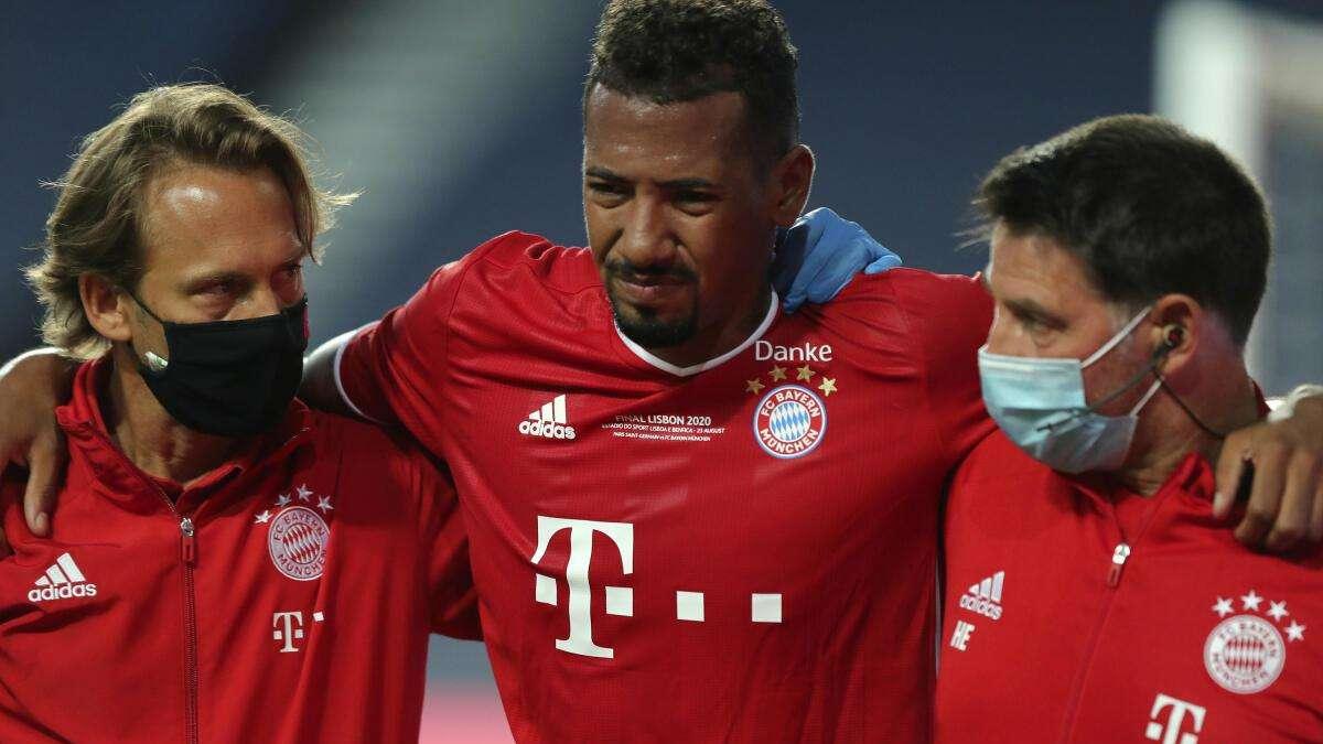 FC Bayern: Jerome Boateng im CL-Finale verletzt! Jetzt ist die Diagnose da