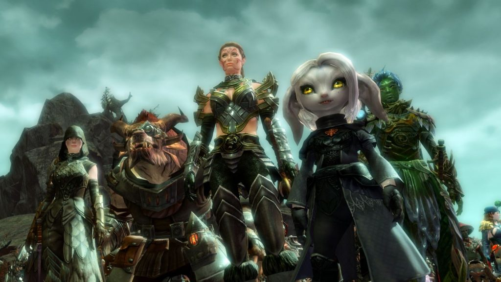 Guild Wars 2 Rasse