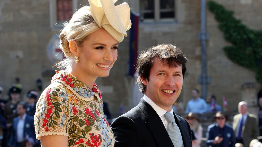 James Blunt mit seiner Frau Sofia Wellesley in Windsor Castle