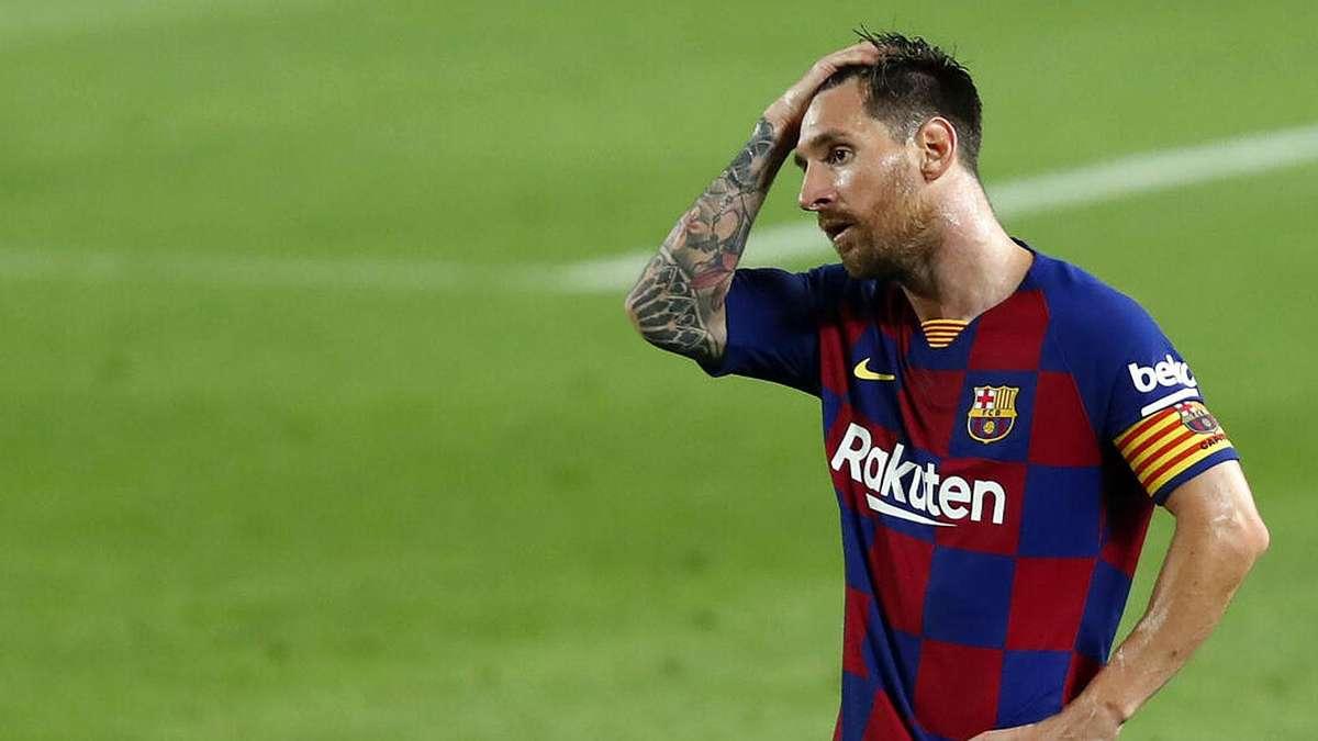 Lionel Messi (FC Barcelona): Superstar mit radikaler Entscheidung nach FCB-Schande