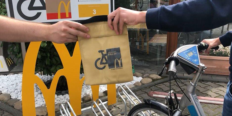 McDonald's: Neuer Fahrradservice in Köln im EXPRESS-Test