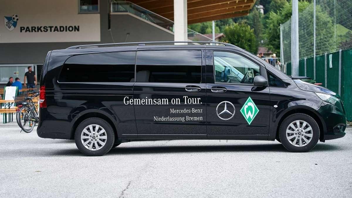 Nach dem Ende der VW-Sponsoren: Werder Bremen arbeitet mit Mercedes zusammen!