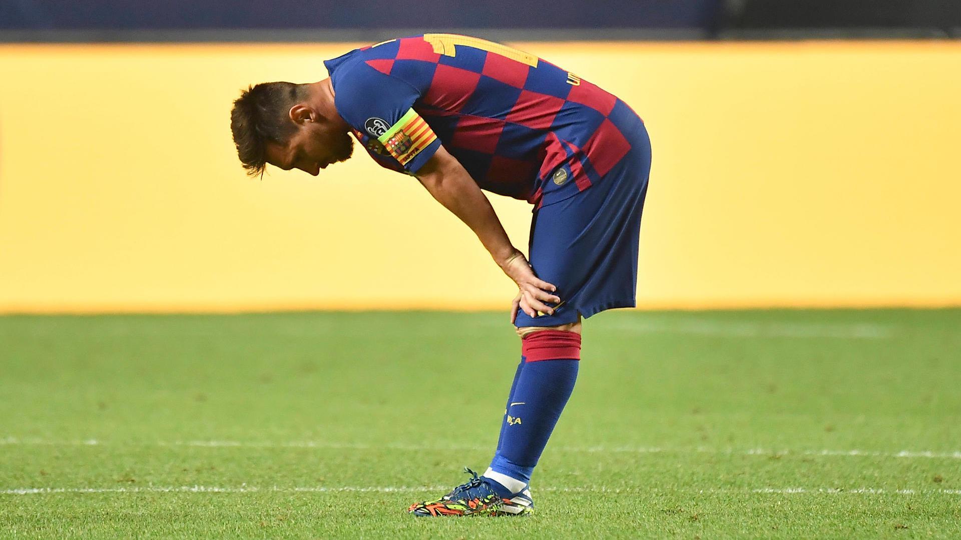 Nach einem Gespräch mit Koeman hätte Messi ernsthafte Zweifel