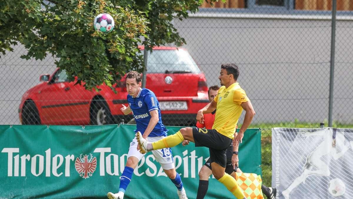 Schalke gewann das Freundschaftsspiel gegen Aris Thessaloniki dank Kutucu und Fährmann