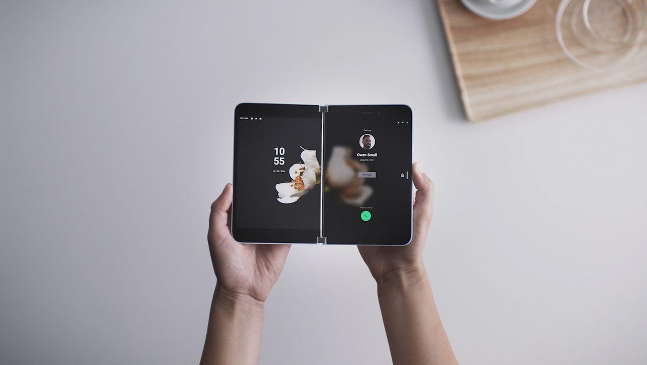 Surface Duo: Microsoft kündigt Smartphone mit zwei Bildschirmen an