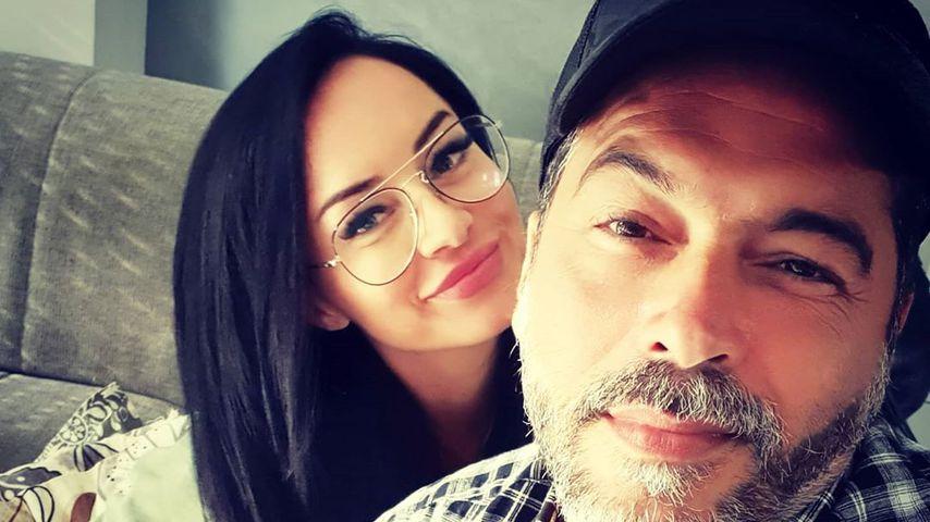 Aurelio Savina und seine Freundin Larissa im Juni 2020