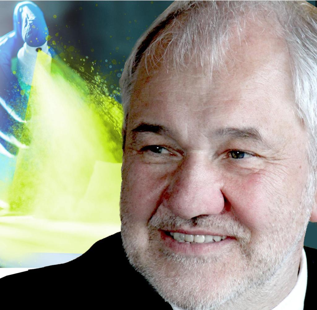 Peter Walger, Hygieneexperte und Infektiologe, glaubt im Alltag nicht an Desinfektionssprays