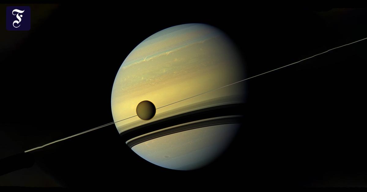 Saturn vibriert wie eine Glocke