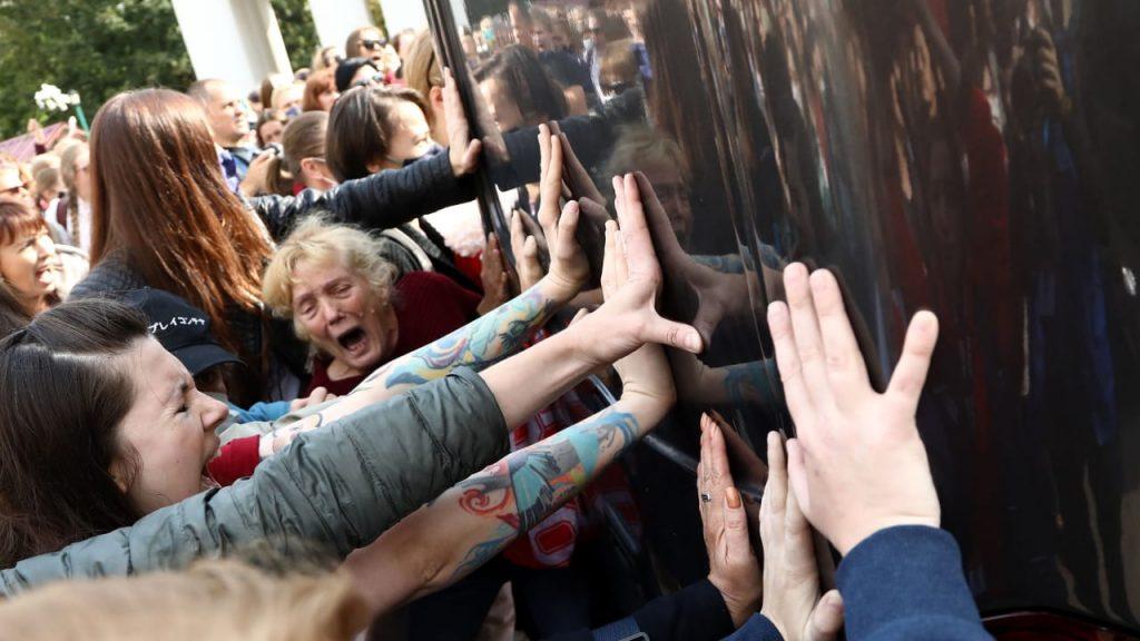 Belarus: Neue Proteste und Hunderte Festnahmen