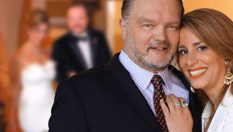 Pompöse Schlosshochzeit: Du hast geheiratet